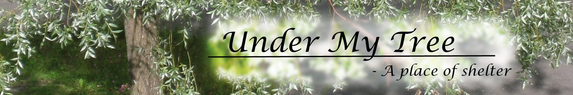 under my tree logo